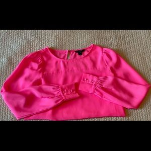 JCrew Pink Blouse
